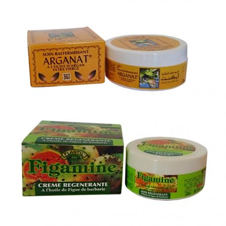 Crèmes de soin Argan & Figue de Barbarie
