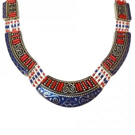 Collier Ethnique Tibétain Indira