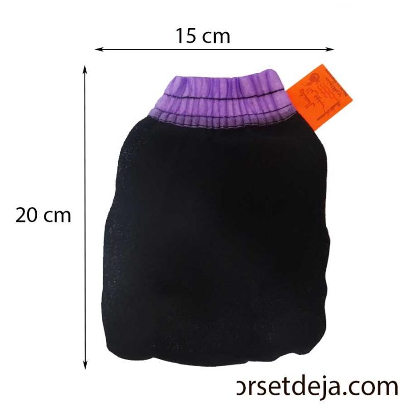 Gant kessa exfoliant gommage du corps au hammam gant kessa savon noir - Gant de toilette exfoliant ...