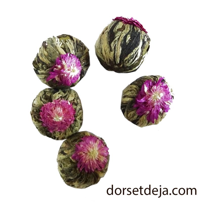 Fleurs De The A L Amaranthe Au The Vert Et Au The Blanc Flower Tea