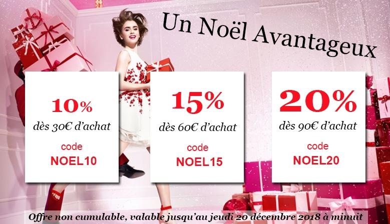 Noel 2018 Codes Promo