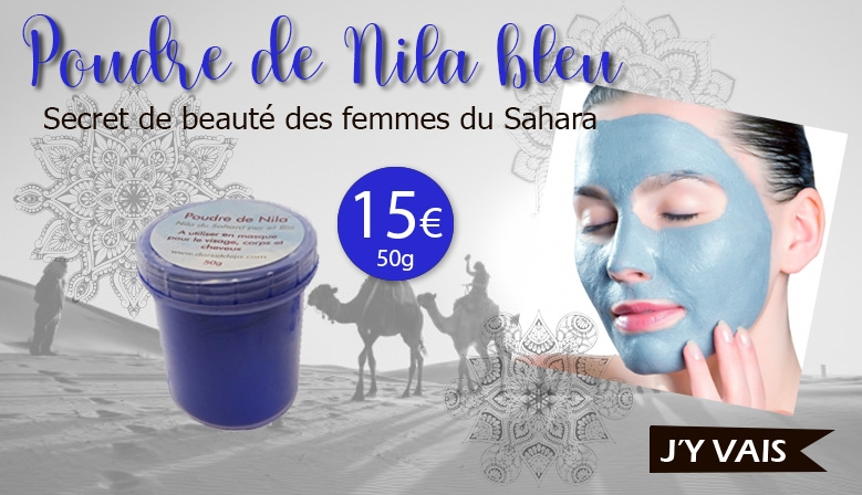 Nila, argile bleu marocaine